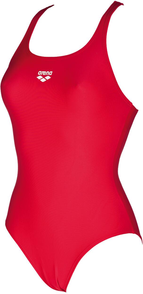 Rouge//Noir, fabricant Taille 38 FR 40 arena Damen Sport Badeanzug Team Stripe maillot de bain Femme